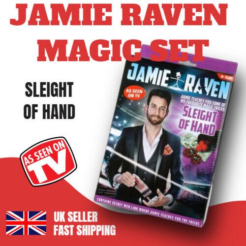 JAMIE RAVEN MAGIC SET SLEIGHT OF HAND MAGIC TRICKS KIDS CHILDRENS MAGICIAN GAME