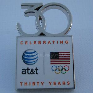 2014-Sochi-Winter-Olympic-AT-amp-T-30-Year-Team-USA-Pin
