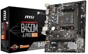 MSI-B450M-A-PRO-MAX-MOTHERBOARD-AMD-Socket-AM4-AMD-B450-Chipset-AMD-CrossFireX