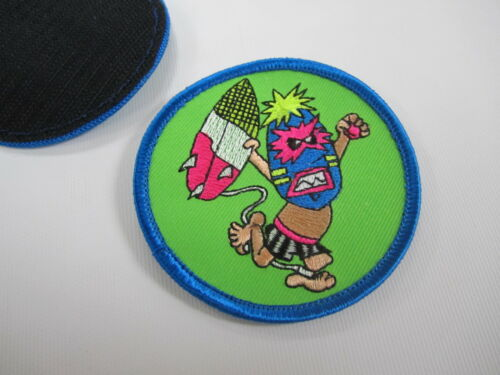 """Thrilla /& Co PRAY FOR SURF  embroidered patch 3/"""""""