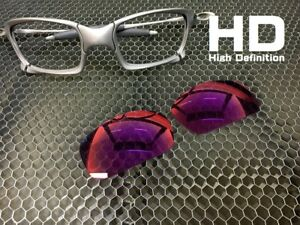 573a9a2d67 LINEGEAR Custom Lens for Oakley X-Metal X-Squared  Prizm - HD Red ...