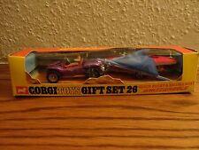 CORGI no 26 Beach Buggy and sailing Boat Set (1st issue boxed) Rare