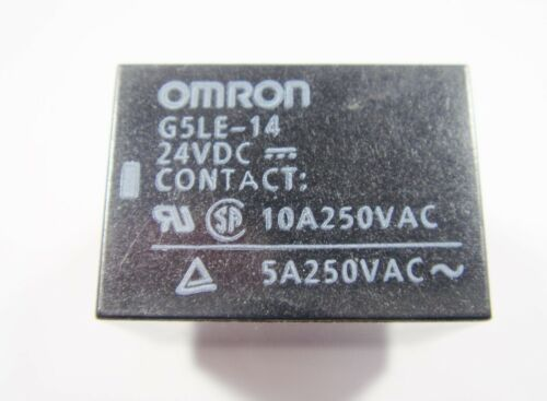 Relais 24V 1xUM 250V 10A OMRON G5LE-14 #20R56/%