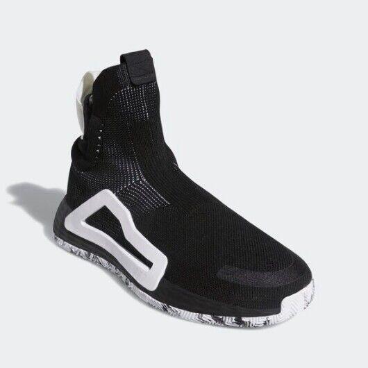 New Adidas Men's Next Level Basketball scarpe scarpe da ginnastica - nero(BB9194)