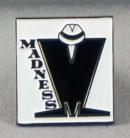 Metal Enamel Pin Badge Brooch Madness Music MOD Scooter Suggs SKA Skins Rock
