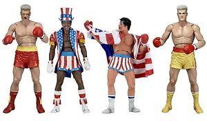 Aufsteller & Figuren Suche Nach FlüGen Rocky Balboa 40th Anniversary Series 2 Ivan Drago Apollo Creed Action Figur Neca Starker Widerstand Gegen Hitze Und Starkes Tragen