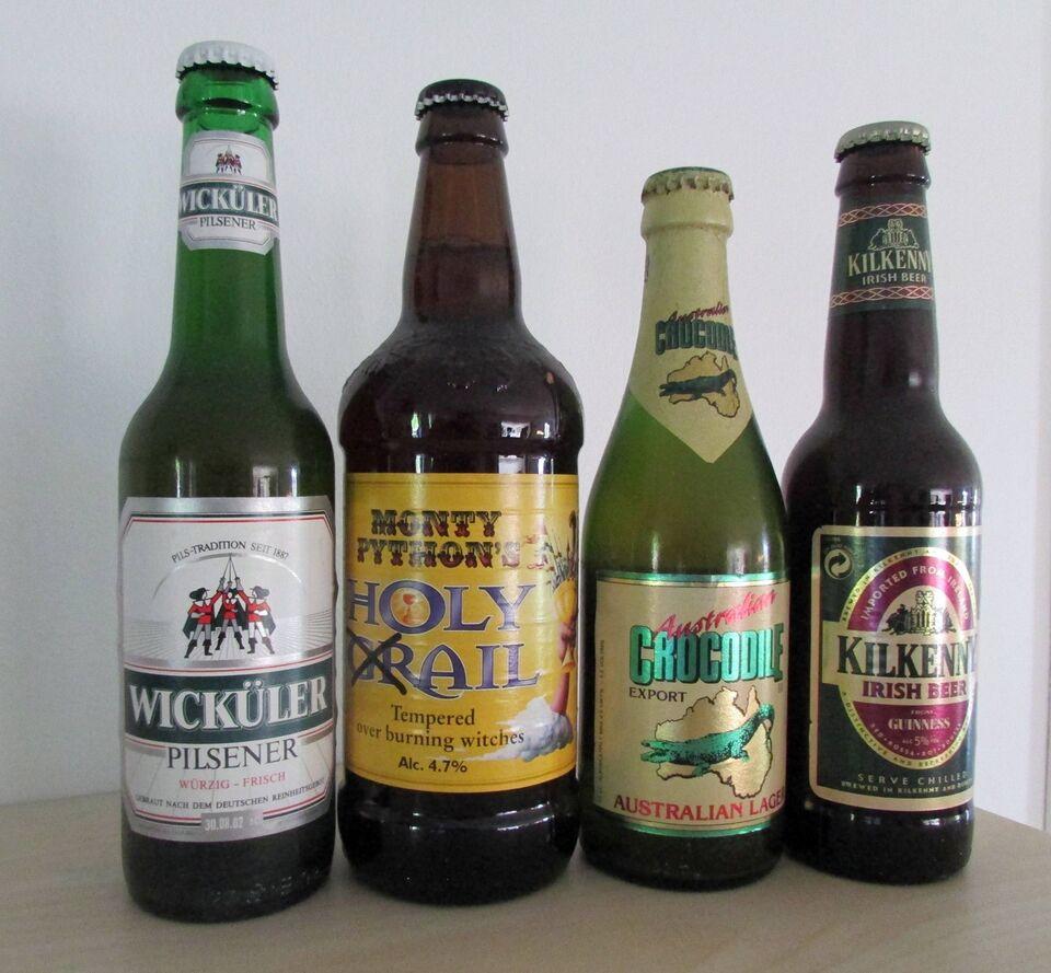 Øl, Brasilianske Bryggerier, 9 uåbnede mm.