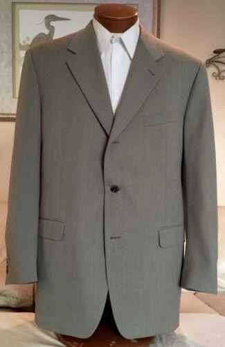 NEW Canali Mens Beige 3 Btn Sport Coat Blazer Jacket Sz 46 L