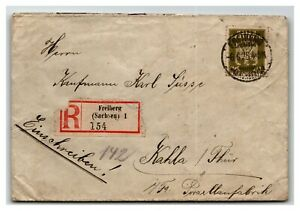 Germany-1925-Official-Registered-Cover-Z13950