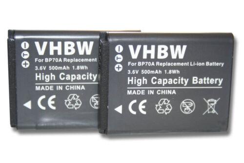 2x Batería para Samsung WB30F