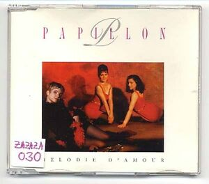 Papillon Maxi-CD Melodie D'Amour - 3-track - CORA Bottlenberg Minkow amsterdam - Teltow, Deutschland - Papillon Maxi-CD Melodie D'Amour - 3-track - CORA Bottlenberg Minkow amsterdam - Teltow, Deutschland