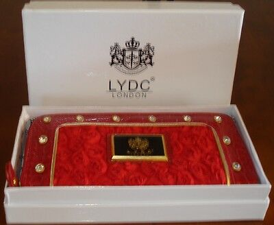 LYDC Designer Moc Croc Clutch/Purse with Gift Box