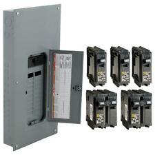 Square D 200 Amp 20 Space 40 Circuit Indoor Main Breaker Panel Box Load Center