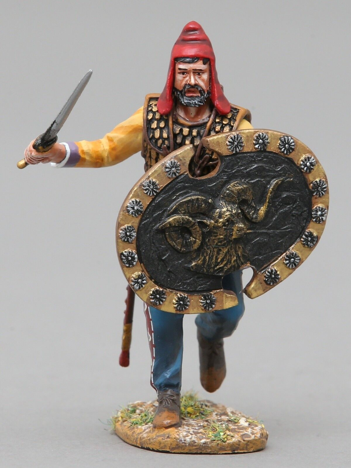 THOMAS GUNN ANCIENT GREEKS & PERSIANS XE016A IMMORTAL CHARGING RAM SHIELD MIB