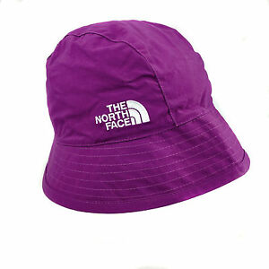 NEW The North Face TNF Lady s Reversible Sun Bucket Hat Purple Check ... 09db3cc0965
