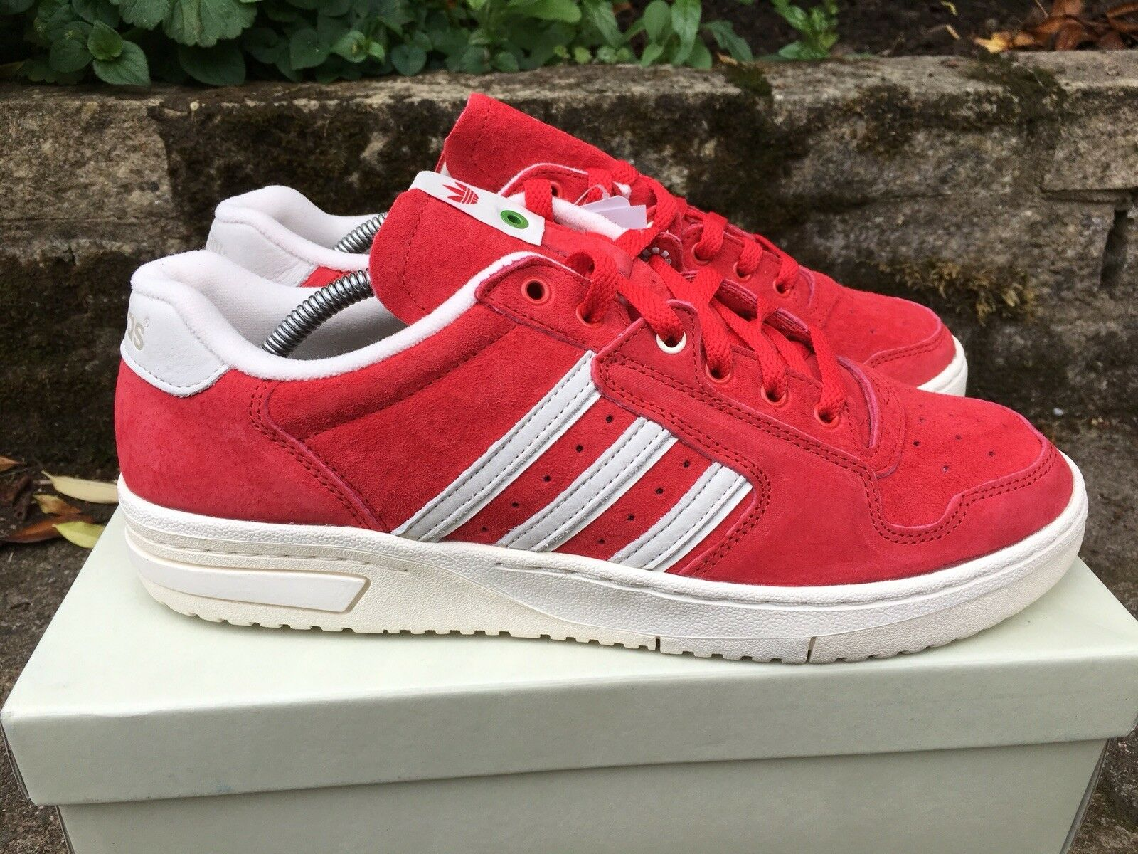 Adidas Edberg 86 Consortium X Footpatrol Footpatrol Footpatrol 1 390, strawberrys & Cream, nuovo con scatola, Taglia 10, a86a70
