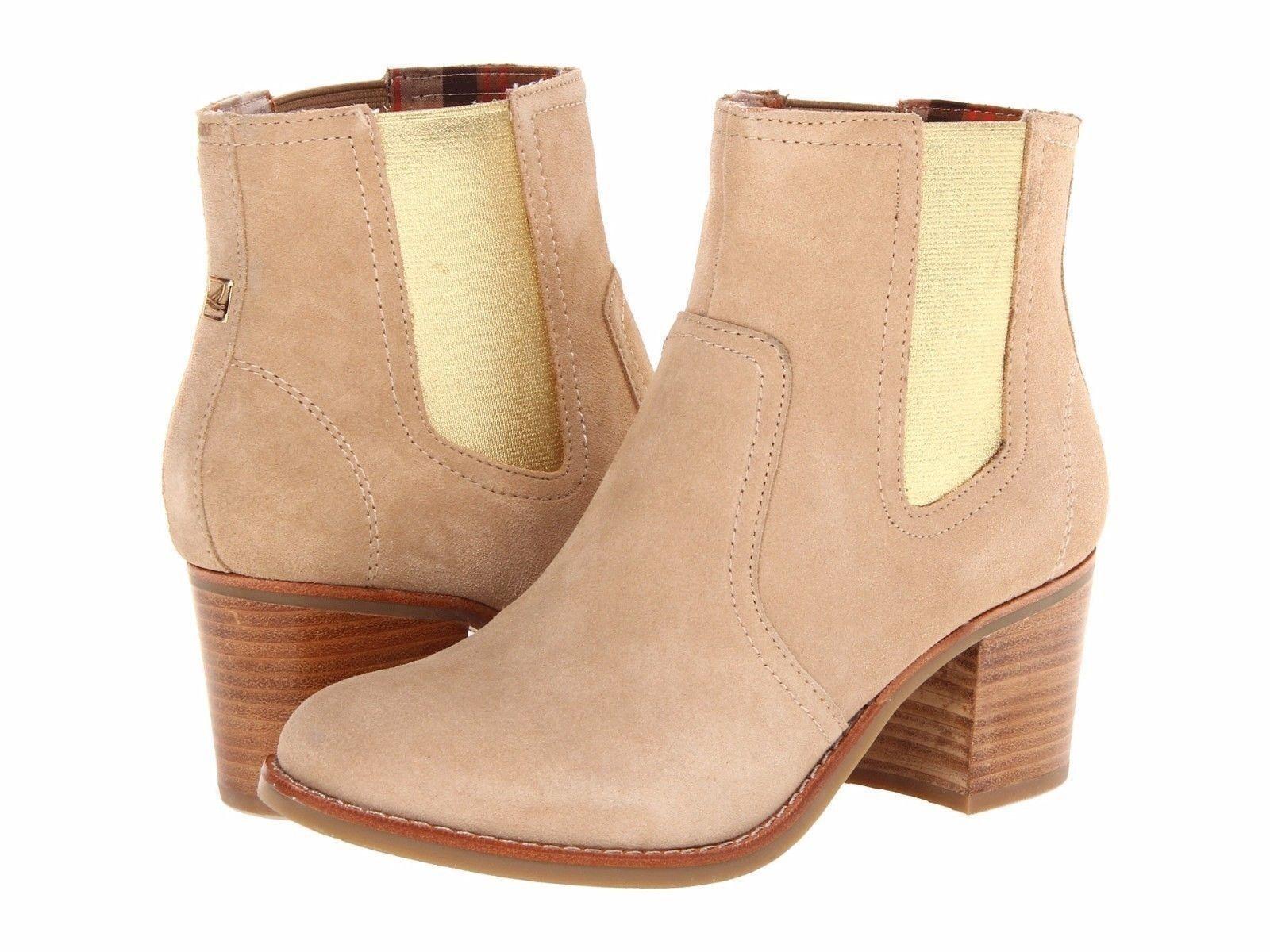 Sperry  Top -Sider donna _sMarlow stivali scarpe in Sand Suede sz 6.5  vendita online