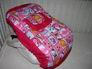 Image Is Loading NEW INFANT CAR SEAT CARRIER COVER M W HELLO