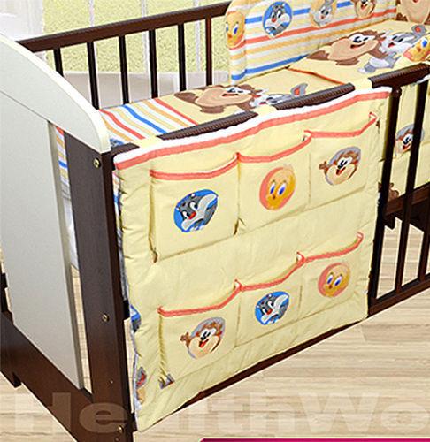 BABY COT TIDY ORGANISER COT /& COTBED NURSERY KIDS CHILD TODDLER NURSERY STORAGE