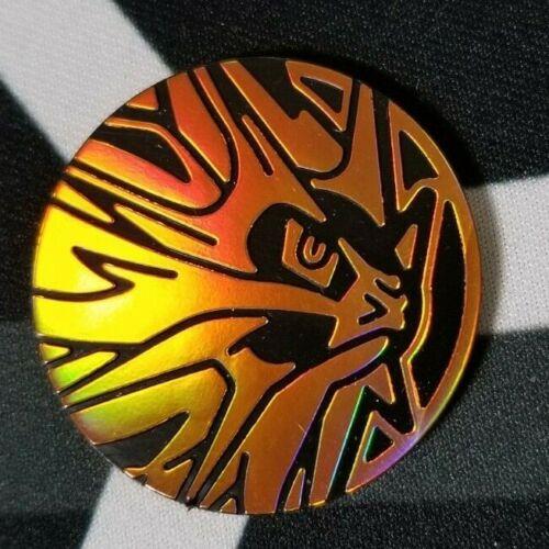 OtBG x1 Solgaleo Orange Large Promo Pokemon Flip Coin Plastic TCG Official