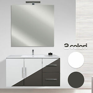 image is loading nuovo mobile bagno moderno sospeso ante soft close