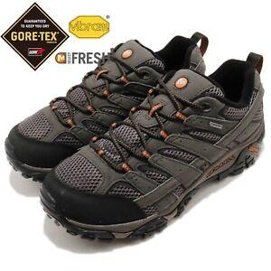 Merrell-Moab-2-GTX-Wide-Gore-Tex-Grey-Black-Men-Outdoors-Hiking-Shoes-J06039W