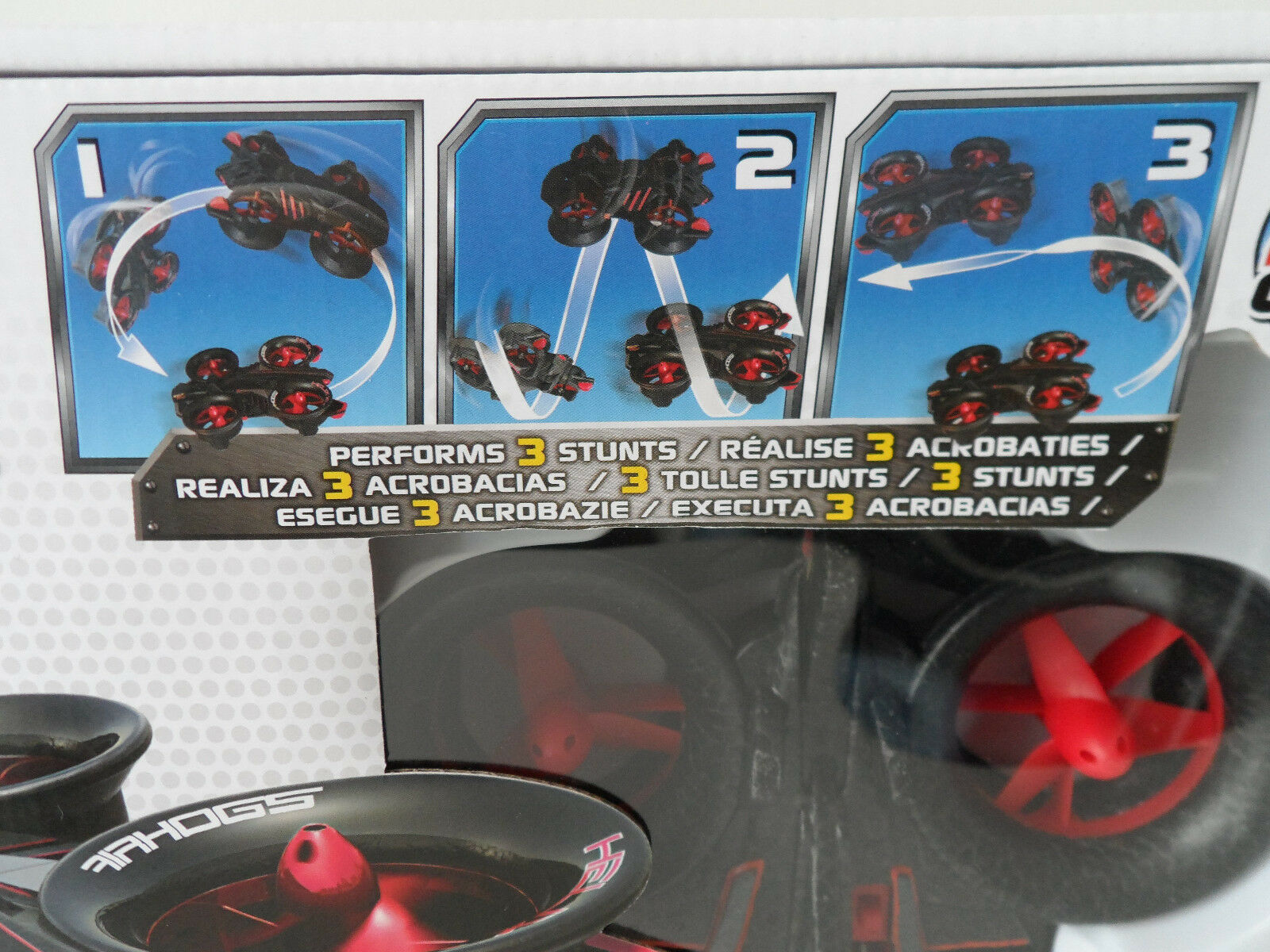 Air Hogs RC Elite Helix Helix Helix x4 Stunt 2.4 GHZ Quad Copter SPINMASTER NUOVO & OVP c883b5