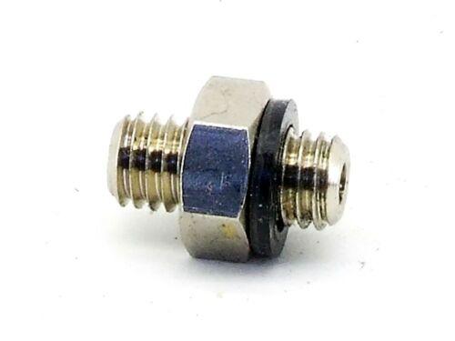 M5 idraulica miniatura FRIZIONE TUBO-RACCORDO connessione L = 11,6mm Adattatore