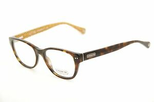 New Authentic Coach 6029 Susie 5001 Dark Tortoise 51mm Eyeglasses RX w/Case