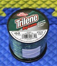 Berkley Trilene Braid 150 Yard Filler Spool 40 LB Test Moss Green 2ct Tbfs40-22 for sale online