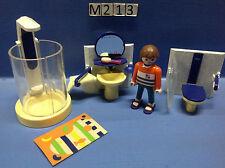 (M213) playmobil salle de bain ref 3969 3965