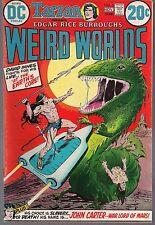 WEIRD WORLDS #2 DC 1972 BURROUGHS JOHN CARTER WAR LORD OF MARS & DAVID INNES VF-