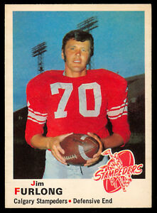 1970-OPC-O-PEE-CHEE-FOOTBALL-CFL-90-JIM-FURLONG-NM-CALGARY-STAMPEDERS-Tulsa
