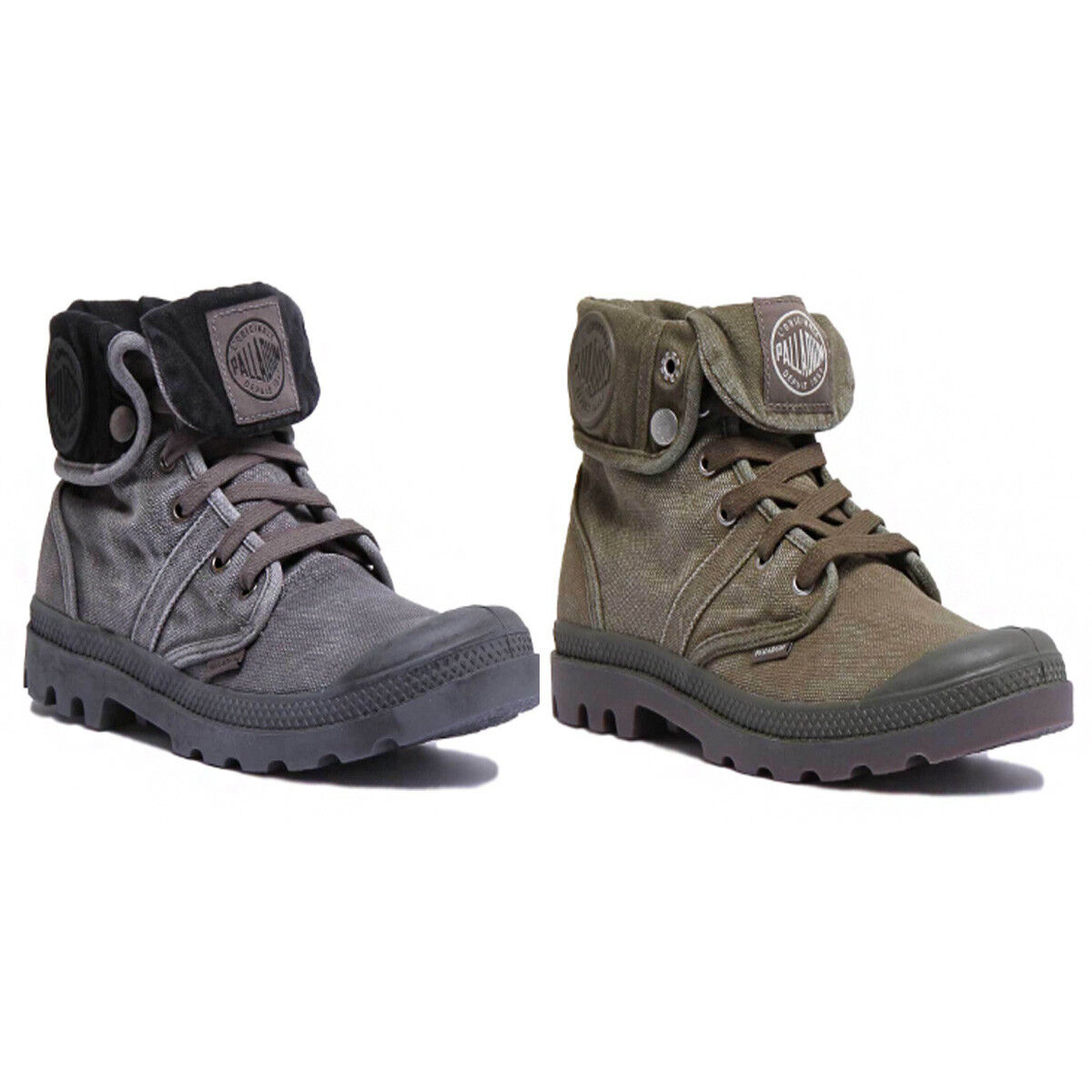 Palladium Us Canvas Baggy  Uomo Olive Canvas Us Stiefel Größe UK 6 - 12 c0f87e
