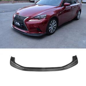 Carbon Fiber Front Bumper Lip Splitter Spoiler For Lexus Isf Sport