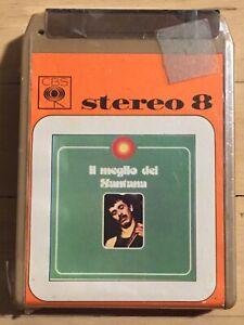 Santana Il Meglio Dei SEALED ITALY 8-Track psych Love Devotion Surrender