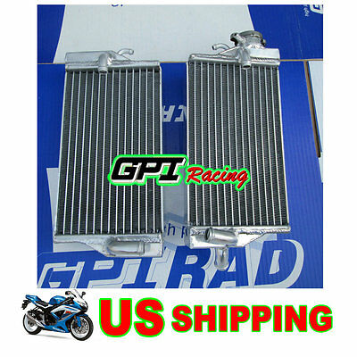 FOR HONDA CR 125 R/CR125R 2-STROKE 2002 2003 ALUMINUM ALLOY RADIATOR