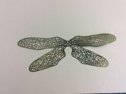 Vitraux Outils//Fournitures laiton filigrane ailes 2 séries de quatre C