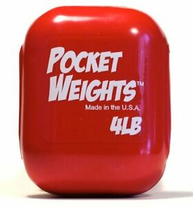 Pocket Weight Trim, Belt Lase Through Scuba Diving Lead 4lbs TW004