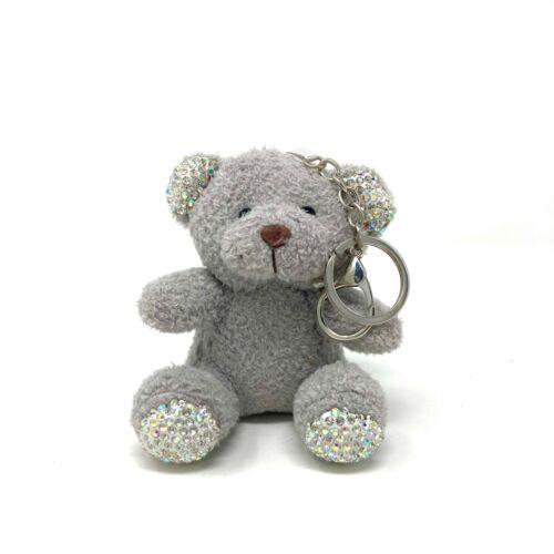 Plush Stuffed Animal Keychain Keyring Elephant Chipmunk Bear Unicorn