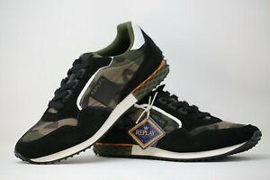 Replay RS790003T Shoes Trainers Camo