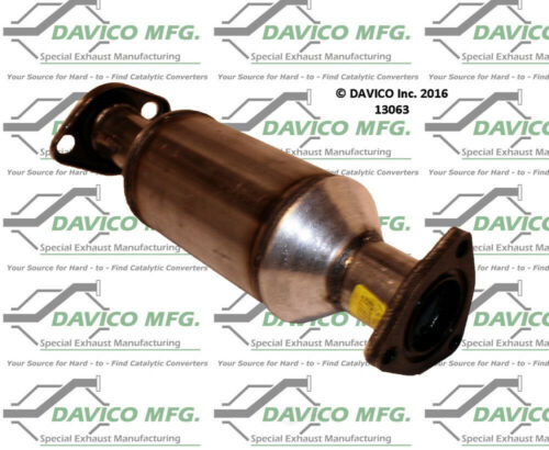 Catalytic Converter-Exact-Fit Davico Exc CA 13063