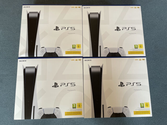 Sony Playstation 5 PS5 Disc Edition 825GB 8K 4K 120fps HDR SOFORT LIEFERBAR NEU