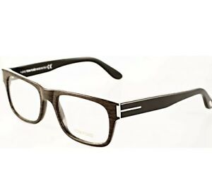 95cca7c464 TOM FORD TF 5274 050 WOOD BROWN BLK EYEGLASSES AUTHENTIC RX FRAMES ...