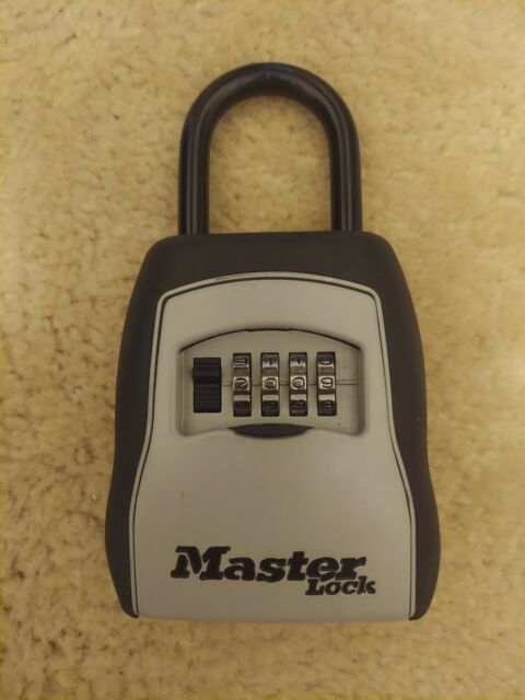 Master Lock Box Combination Security Key Storage Safe Real Estate Realtor