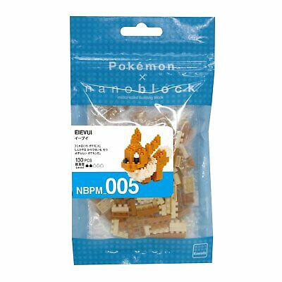 nanoblocks Pokemon Eevee Building Kit 130 pcs NBPM-005