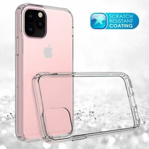 For Apple iPhone XR Xs Max X 8 7 Plus 6 5 Se Case Cover Clear Transparent CS283