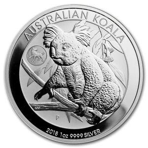 Perth-Mint-Australia-1-Koala-Dog-Privy-2018-1-oz-999-Silver-Coin