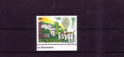 Weich Und Rutschhemmend europa:8456 Slowenien Michelnummer 225 Postfrisch