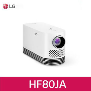 LG Pro Beam Tv HF80JA Laser Smart Home Theater Projector - White